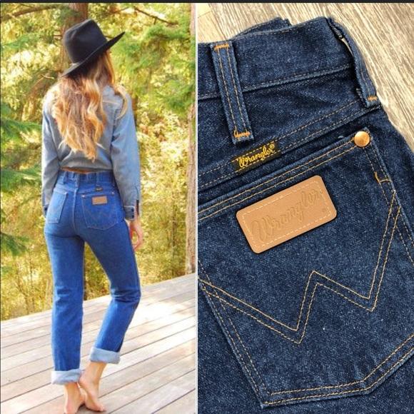 cc2d94a2 Vintage 70's Wrangler High Waist Straight Leg. M_5aa849073b160876eab8d077.  Other Jeans ...